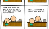 cyanide and happiness comic bar urine face funny pics pictures pic picture image photo images photos lol