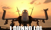 dunno lol jet plane wings up arms aircraft carrier funny pics pictures pic picture image photo images photos lol