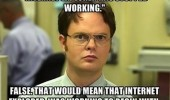 dwight office meme internet explorer stopped working funny pics pictures pic picture image photo images photos lol