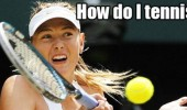 how do i tennis face girl ball racket wimbeldon sport funny pics pictures pic picture image photo images photos lol