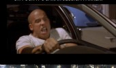 vin diesel sarah jessica parker driving fast furious movie horse crash wind screen funny pics pictures pic picture image photo images photos lol