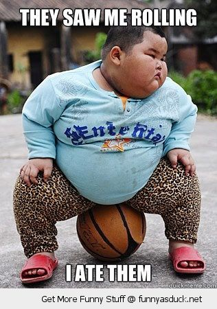 fat asian kid basketbal see saw me rolling ate them funny pics pictures pic picture image photo images photos lol