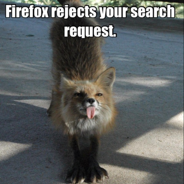 fox animal sticking out tongue firefox rejects your search request cheeky funny pics pictures pic picture image photo images photos lol
