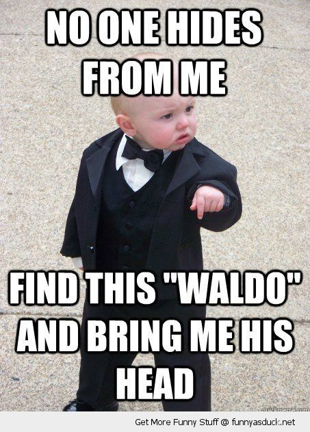 gangster baby kid meme wheres waldo wally bring me his head cute funny pics pictures pic picture image photo images photos lol