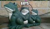 frog statue garden ornament sad guys never signed up for this gay sex funny pics pictures pic picture image photo images photos lol