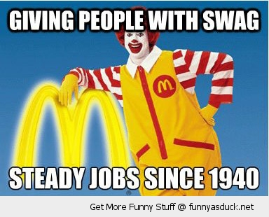 good guy ronald mcdonald swag jobs people funny pics pictures pic picture image photo images photos lol