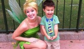 happy kid boy disneyland believe this shit hanging with tinkerbell funny pics pictures pic picture image photo images photos lol