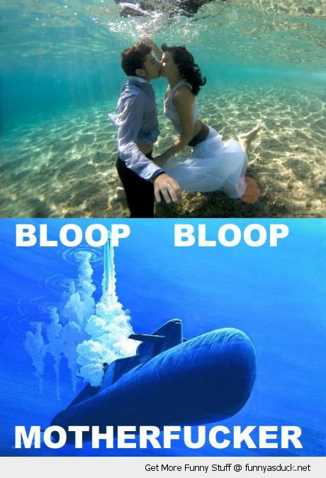 hipster couple kissing hugging cuddling under watr submarine bloop motherfucker funny pics pictures pic picture image photo images photos lol