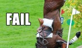 horse riding fail jump rider falling animal face palm funny pics pictures pic picture image photo images photos lol