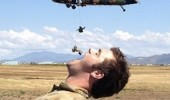 om nom illusion helicopter soldier falling mouth army funny pics pictures pic picture image photo images photos lol