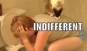 indifferent cat lolcat animal boy back toilet sick funny pics pictures pic picture image photo images photos lol