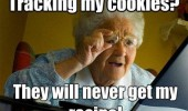 internet grandma meme track cookies recipe old woman funny pics pictures pic picture image photo images photos lol