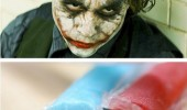 batman joker movie film got these scars ice pole popsicles funny pics pictures pic picture image photo images photos lol