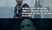kanye west imma let you finish neville harry potter movie scene voldemort best wizard ever movie scene funny pics pictures pic picture image photo images photos lol