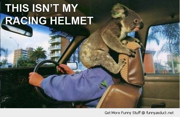 Not My Racing Helmet