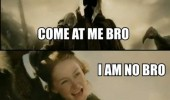 lord of the rings movie tv no man come at me bro woman funny pics pictures pic picture image photo images photos lol