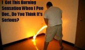 man peeing pissing fire burning sensation doctor pee funny pics pictures pic picture image photo images photos lol