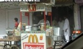seems legit fake mcdonalds stand food market burgers funny pics pictures pic picture image photo images photos lol