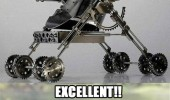 evil kid baby metal armored buggy stroller excellent meme funny pics pictures pic picture image photo images photos lol
