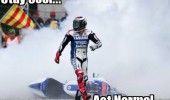 motor bike cycle driver racer crash cool act normal like a boss funny pics pictures pic picture image photo images photos lol
