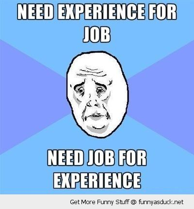 ok guy meme need experience job rage comics funny pics pictures pic picture image photo images photos lol
