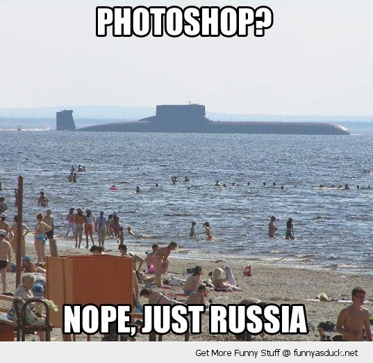 photoshop russia submarine beach boat water funny pics pictures pic picture image photo images photos lol