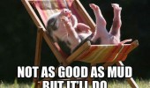 not as good mud baby pig happy piglet chair animal funny pics pictures pic picture image photo images photos lol