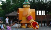 play park slide chute toy kids equipment clown penis fail funny pics pictures pic picture image photo images photos lol
