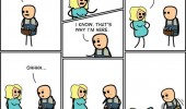 pregnant woman plumber cyanide and happiness comic funny pics pictures pic picture image photo images photos lol
