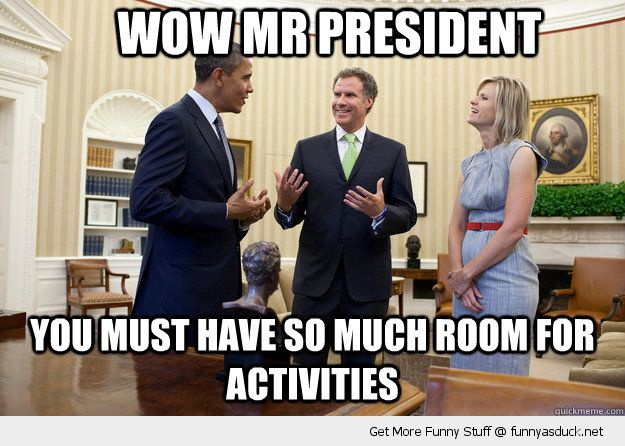 Wow Mr President