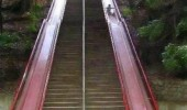 slide chute stairs steps this option everywhere funny pics pictures pic picture image photo images photos lol