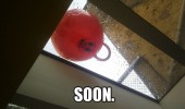 soon space hopper bouncer face window creepy kids toy funny pics pictures pic picture image photo images photos lol