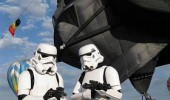 storm troopers star wars darth vader hot air balloon dark side ride funny pics pictures pic picture image photo images photos lol