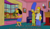 simpsons otto buying house windows can't afford tv scene funny pics pictures pic picture image photo images photos lol