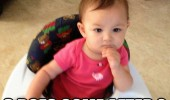 thinking baby see your point elmo kid watching tv walker funny pics pictures pic picture image photo images photos lol