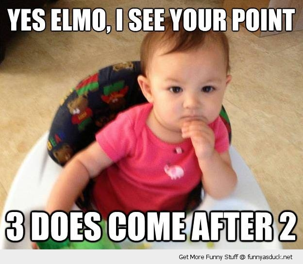 I See Your Point Elmo