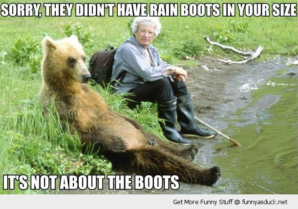 It's Not About the Boots