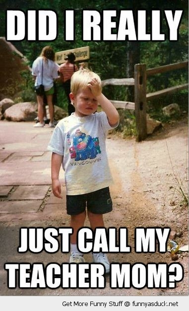 upset facepalm kid boy call teacher mom funny pics pictures pic picture image photo images photos lol