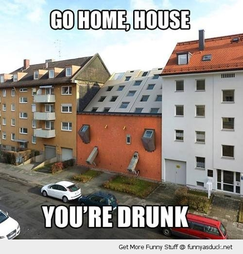 house flat apartment upside down go home drunk funny pics pictures pic picture image photo images photos lol