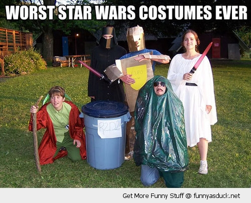 worst star wars costumes ever geek nerds halloween funny pics pictures pic picture image photo images photos lol
