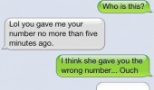 girl gave wrong number text sms know that feel bro iphone funny pics pictures pic picture image photo images photos lol