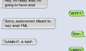 autocorrect fail sms text iphone try anal nap funny pics pictures pic picture image photo images photos lol