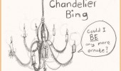 chandelier bing chandler friends be any more ornate funny pics pictures pic picture image photo images photos lol
