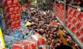 coke soda bottles store shop floor mess bitch please i quit funny pics pictures pic picture image photo images photos lol