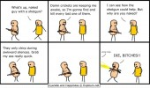 cyanide happiness comic damn crickets awkward silence funny pics pictures pic picture image photo images photos lol