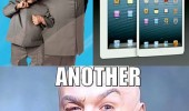 doctor evil austin powers apple ipad mini movie film another billion dollars funny pics pictures pic picture image photo images photos lol