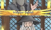 dumbledore harry potter professor gandalf you shall not pass bit harsh comic movie film funny pics pictures pic picture image photo images photos lol