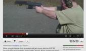 fat man shooting gun you tube comment took his fries life funny pics pictures pic picture image photo images photos lol