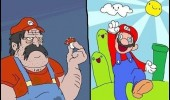 super mario fat plumber gaming shrooms high stoned wasted nintendo funny pics pictures pic picture image photo images photos lol