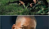 fire at will smith soldiers guns army what have i done to you movie film actor funny pics pictures pic picture image photo images photos lol
